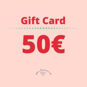 gift card 50 elen zammarchi